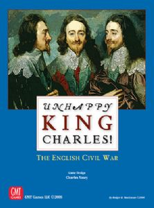 Unhappy King Charles Mounted Map